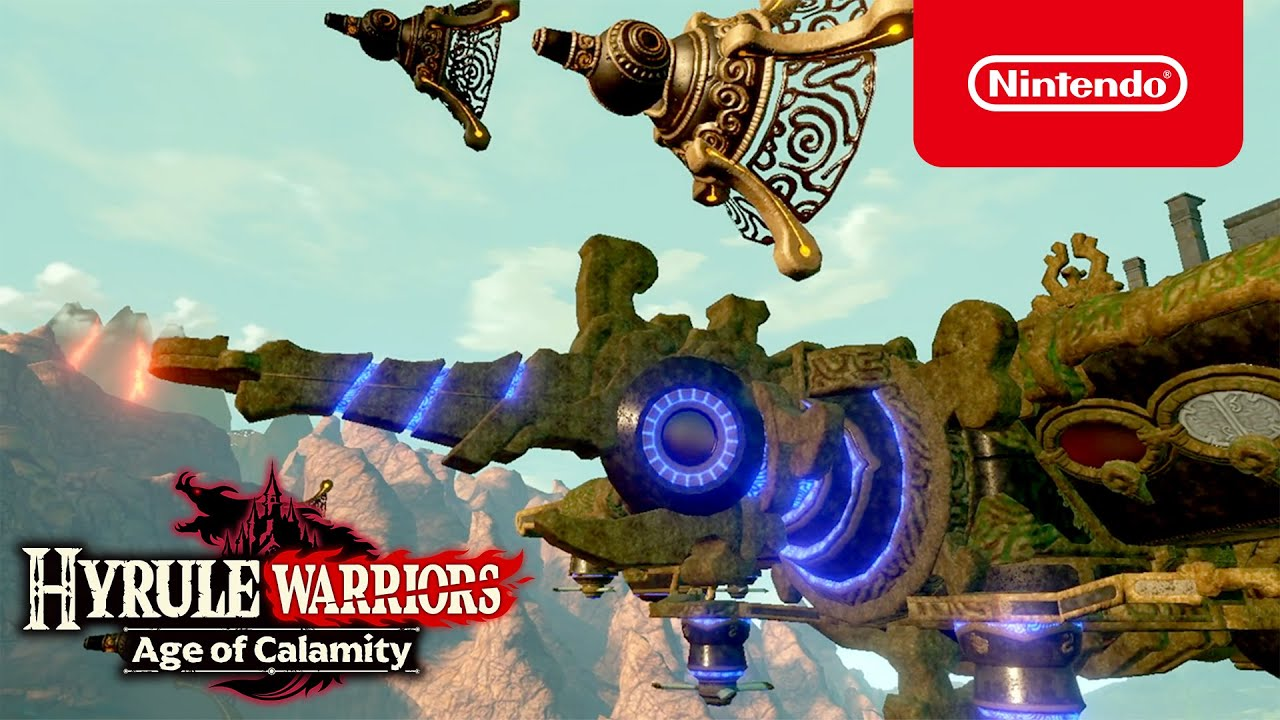 Try The Free Demo For Hyrule Warriors Age Of Calamity Now Nintendo Switch Youtube