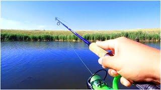 Рыбалка на МИКРОДЖИГ в ИЮЛЕ Ловля ОКУНЯ Летом Трудовая рыбалка на пруду Рыбалка 2021