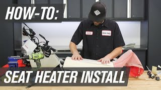 How To Install The Tusk Motorcycle or ATV Seat Heater