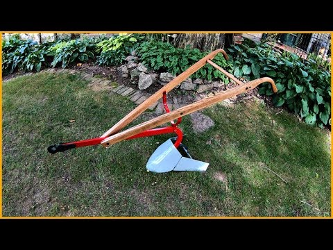 130 Years Old  Antique Hand Plow Restored