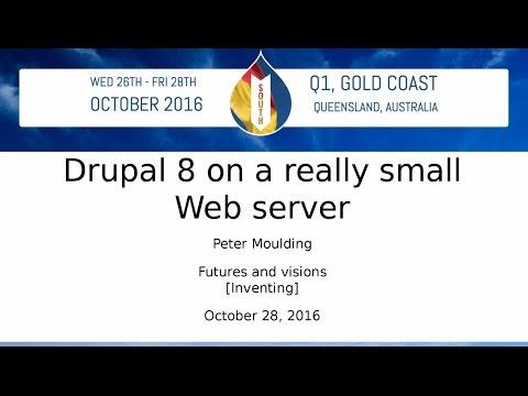 Drupal 8 on a really small Web server