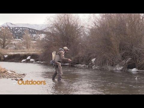 Winter Fishing the Weber River