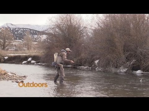 Winter Fishing The Weber River