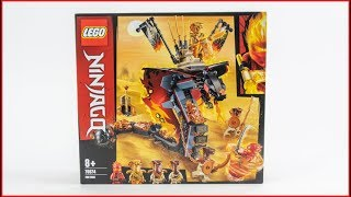 LEGO NINJAGO 70674 Fire Fang Construction Toy - UNBOXING