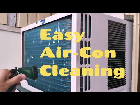 How to Clean Window Type Air Conditioner Quick and Easily