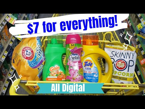 Dollar General Couponing All Digital Coupons Deal! EASY!