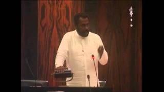 MP Hector Appuhamy on Empowerment of poor families.