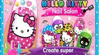 Hello Kitty Nail Salon - iPad app demo for kids
