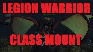 Bajheera - Legion Warrior Class Mount Quest! - WoW 7.2 Fury Warrior PvE