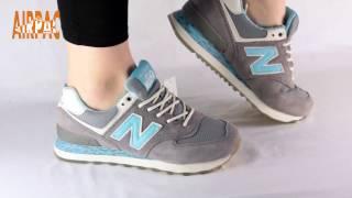 Обзор женских кроссовок New Balance 574 от Airpac.com.ua
