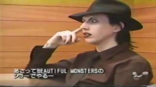 Marilyn Manson Cake And Sodomy Interview Fuji Yoshida Japan 1999