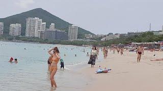 Хайнань Китай погода сейчас пляж Дадунхай