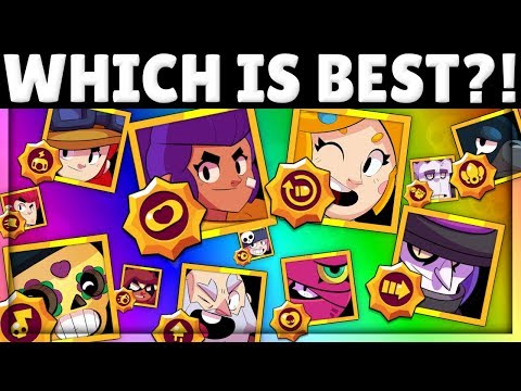 ALL 54 Star Powers Tier List MADE BY PROS! | Best & Worst Star Powers in Brawl Stars!