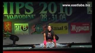 Оробец Оксана - фитнес ЧЕ2010