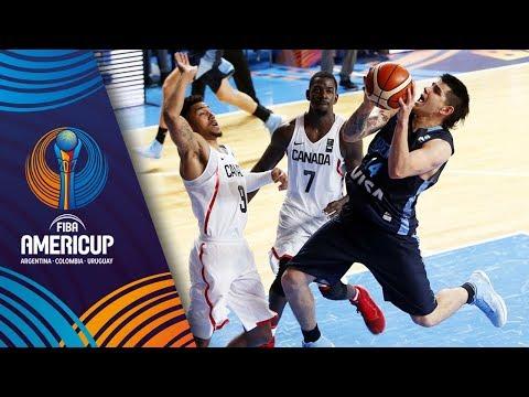 Canada v Argentina - Full Game - FIBA AmeriCup 2017