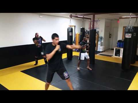 Shadow Boxing warm up
