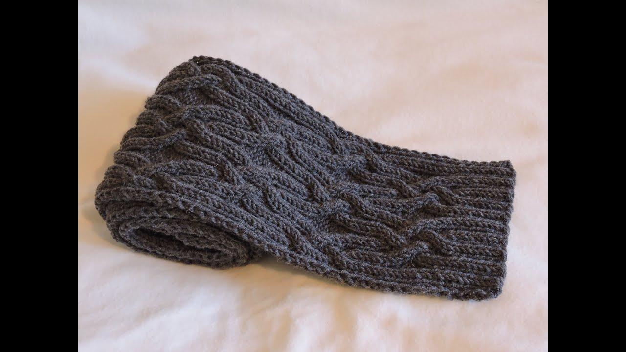 Вязание для мужчин шарф схемы 689
