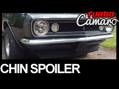 1967-1968 Camaro Complete Front Spoiler Kit