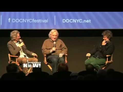 Noam Chomsky in Conversation with French Filmmaker Michel Gondry