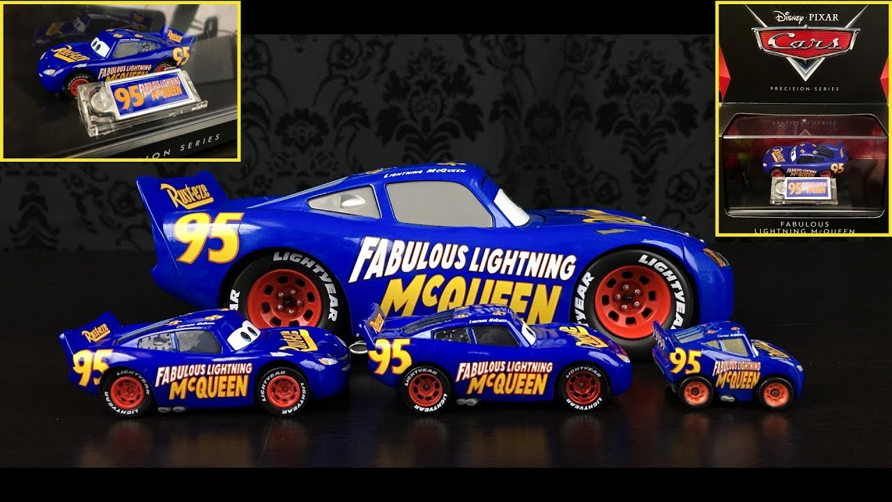 Cars 3 Precision Series Fabulous Lightning Mcqueen Die Cast Video
