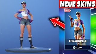 FORTNITE DAILY ITEM SHOP 7.7.19 STRANDBOMBER SKIN IST DA!