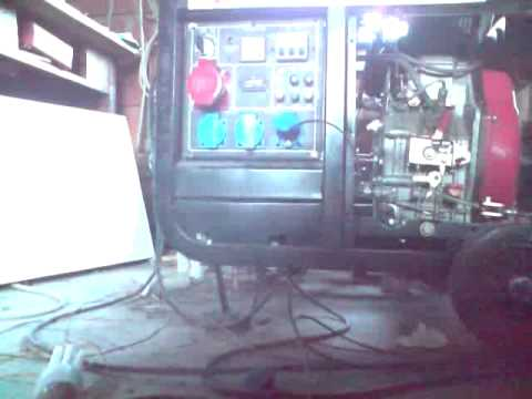 induction motor converted in generator
