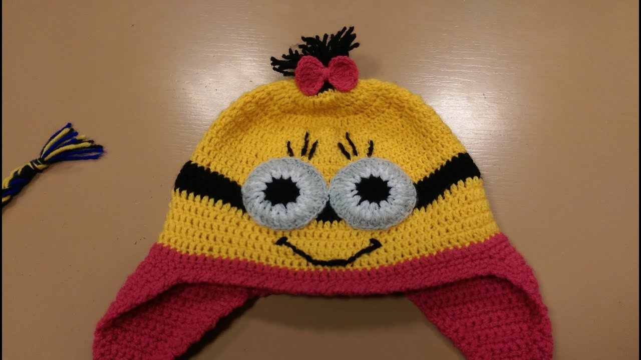 Cappellino Minion Alluncinetto Tutorial Parte 1 How To Crochet