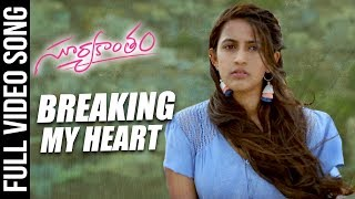 Breaking My Heart Full Song Suryakantam | Niharika Konidela, Rahul Vijay, Perlene Bhesania