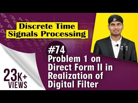 Problem 1 on Direct Form II in Realization...