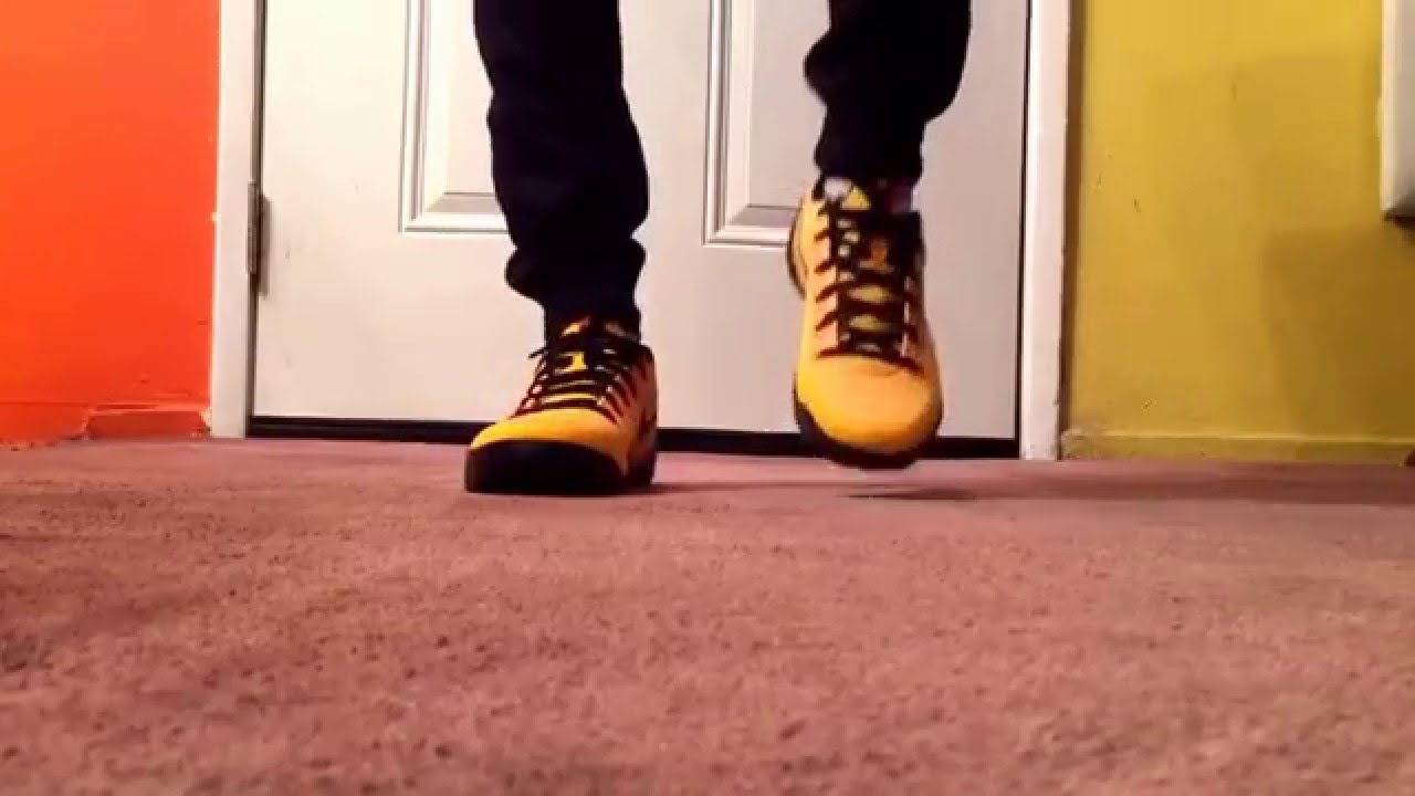 sneakers for cheap ae536 df074 nike kobe 11 bruce lee on feet