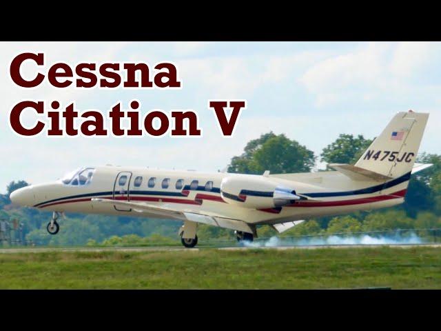 2008 Cessna Citation V - Landing & Takeoff
