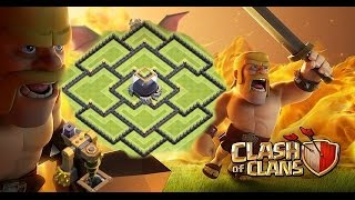 Clash of Clans | TOWN HALL 9 (TH9) DARK ELIXIR FARMING BASE! 2-Air Sweeper (New Update)
