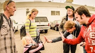 Homeless Family Makeover  | Give Back Films