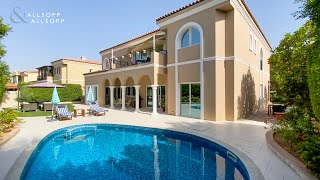 Family villa for sale in Dubai, Green Community - Beautiful surrounding landscapes