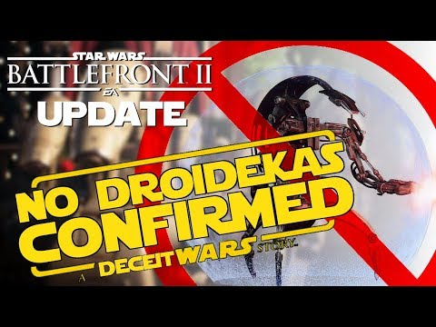 Droidekas ARE NOT Coming | Battlefront 2 Update thumbnail