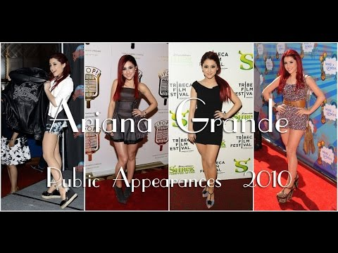 Ariana Grande: Public Appearances 2010.  Part 1.