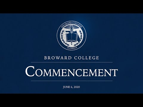 Broward College 2020 Virtual Graduation