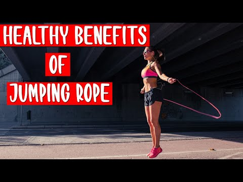 How To Lose Fat Fast – 8 Healthy Benefits Of Jumping Rope
