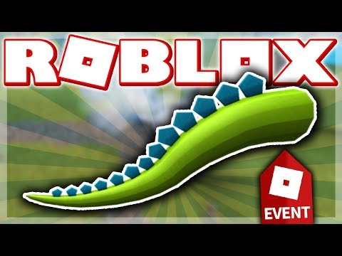 HOW TO GET THE MONSTROUS CARDBOARD TAIL!! (ROBLOX IMAGINATION EVENT - DINOSAUR SIMULATOR!)