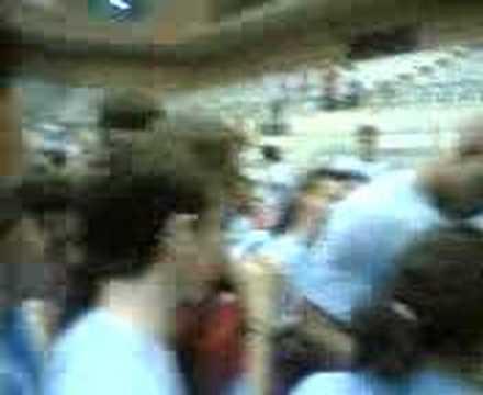 Marcus Fizer con los aficionados