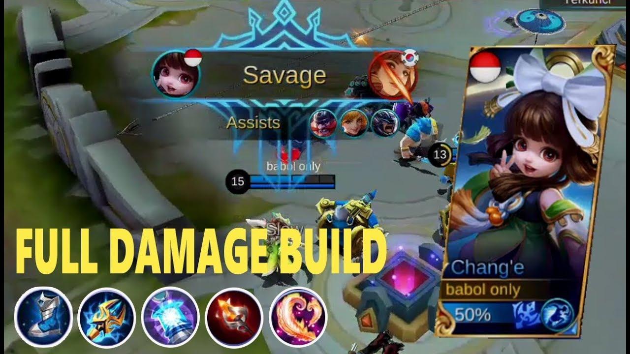 savage, change build full damage - top global change