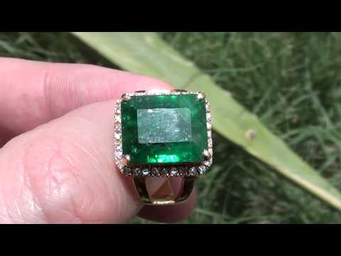 Swat Valley Emerald 8.96ct