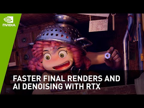 Faster Final Renders And AI Denoising With RTX In Blender Cycles