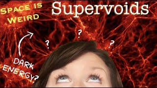 How do cosmic supervoids prove that dark energy exists? | Space is Weird - Boötes Void