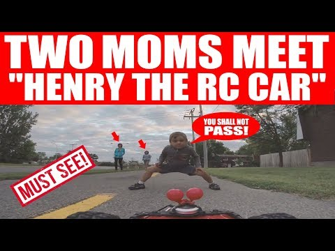 "2 MOMS MEET ""HENRY THE RC CAR""! (EPISODE #110)"
