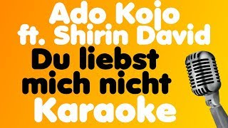 Ado Kojo - Du liebst mich nicht (feat. Shirin David) - Karaoke
