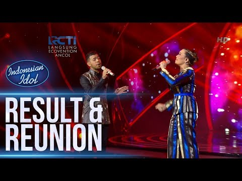 GLEN ft. REZA A. - CINTA KAN MEMBAWAMU KEMBALI (Dewa 19) - RESULT & REUNION - Indonesian Idol 2018
