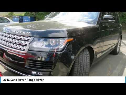 Range Rover Charlotte >> 2016 Land Rover Range Rover Charlotte Nc K20071a