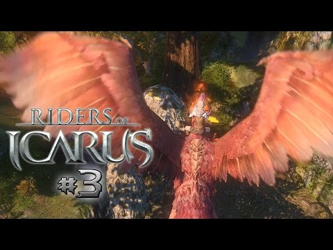 RIDING A PHOENIX! Riders of Icarus - Part 3