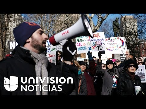 Nuevas protestas en Nueva York para rechazar las políticas de inmigración y las deportaciones